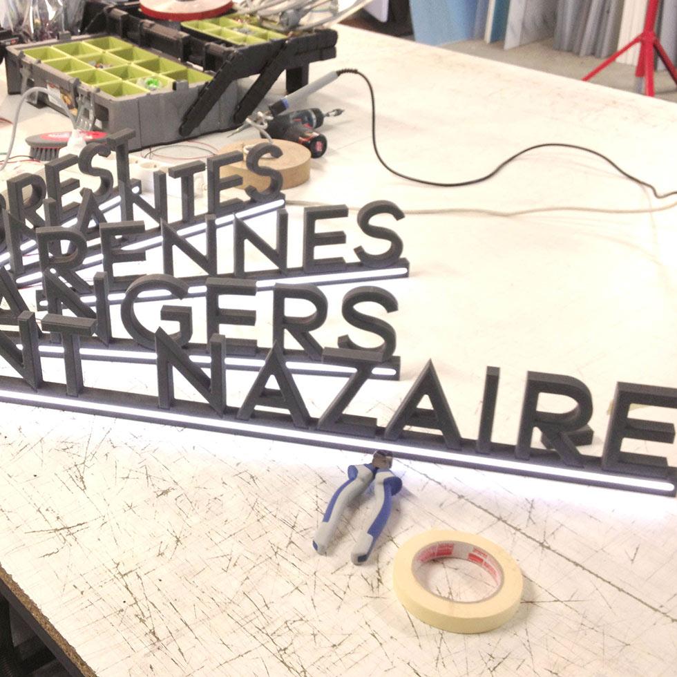découpe numérique sur mesure mecanumeric nantes bouguenais