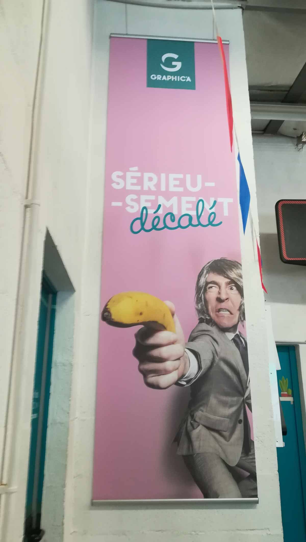 PLV roll up nantes bouguenais communicatio publicité événementiel